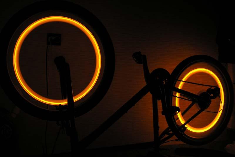 Подсветки для велосипеда своими руками